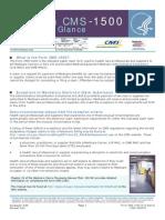 Fact Sheet - Hcfa - Cms -1500