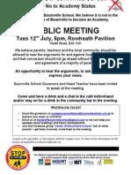 Bournville Academy Meet