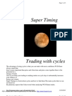 Super Timing Trading With Cycles