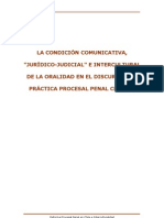 Reforma Procesal Penal en Chile e Intercultural Id Ad
