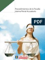 Manual de procedimientos de la fiscalia en el sistema penal acusatorio