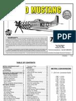Manual Armado P-51 Mustang