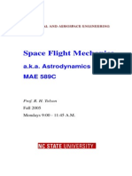 Orbital Mechanics Tolson 2005