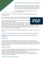 PRIMEIROS SOCORROS E PREVENÇÃO FRENTE OS ACIDENTES DOMICILIARES