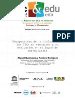 Perspectivas de la inclusión de las TICs en educación y su evaluación en el logro de aprendizajes