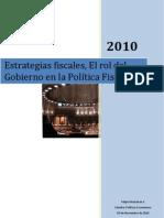 Gobierno, Gasto Social y Politica Fiscal
