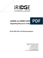 Gender and Armed Conflict II