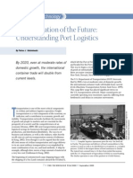 Transportation of the Future Understanding Port Logistics
