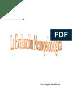 neuropsicología y test