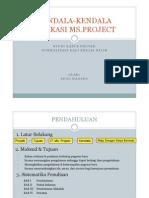 Aplikasi Ms Project