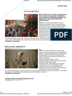 Ramdev's Plan to Save Agriculture - Rediff