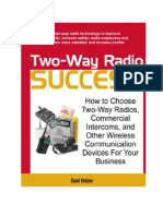 How to Choose a Two-Way Radio