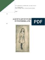 Carroll Alice's Adventures in Wonderland