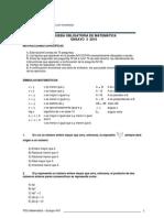 prueba ensayo matematica