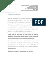 CARISMA DE LOS POLÍTICOS