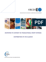 OECD Comments on TP Issues