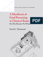 Food Processing in Classical Rome