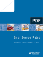 Smart Source Rate Card - 2003