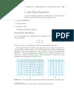 Parametric and Polar