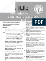 Aiims Oes Model Paper 04