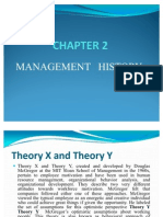Chapter 2 Management History