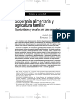 soberania alimentaria -revista realidad economica nº