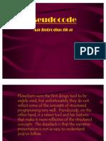 Pseudo Code Basics