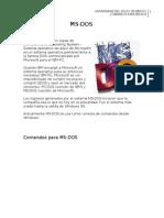 Comandos de MS-DOS 2