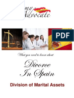 Division of Marital Assets in Spain - Divorce Aftermath