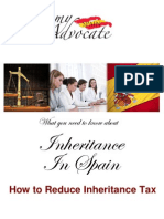 How to Reduce Spanish Inheritance Tax