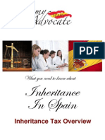 Inheritance Tax Spain Overview