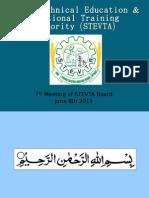 7th Board Meeting STEVTA Hafeez