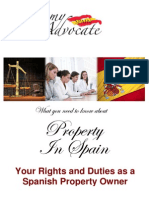Spanish Property Law - Property Owners Rights in Spain