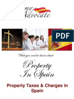 Property Taxes & Charges in Spain