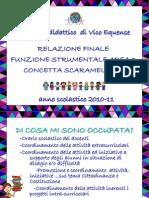 Relazione Finale area 3 (Interventi e servizi per gli studenti)