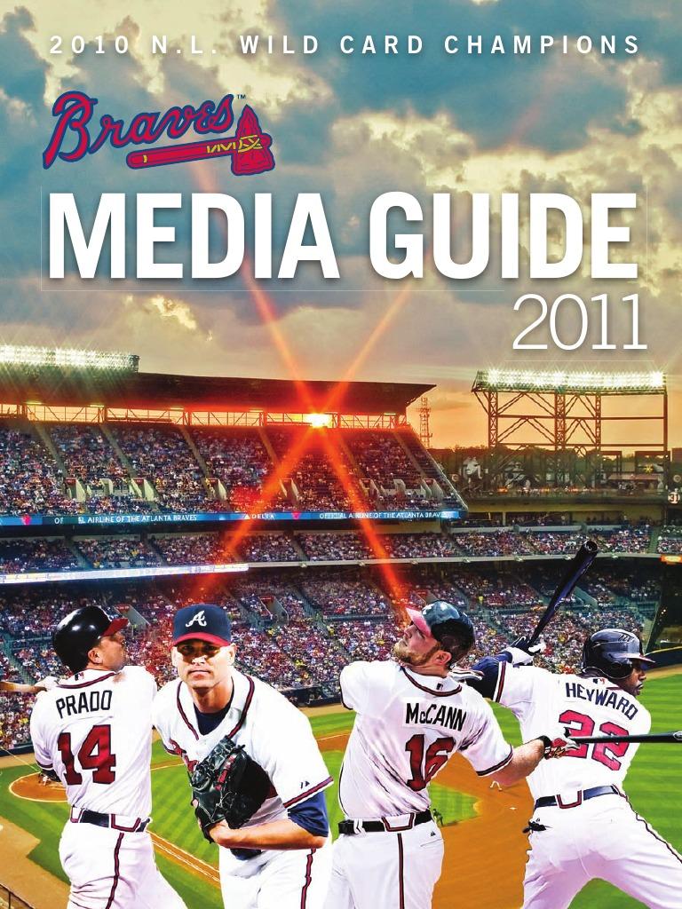 d8d3477ad 2011 Atlanta Braves Media Guide   Atlanta Braves   Time Warner
