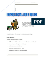 Electrical Installation in Building (politeknik)