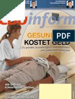 CDUinform Nr. 17 (2/2011) Titelthema
