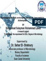 Bioremediation of Aquatic Environments Polluted With Heavy Metals