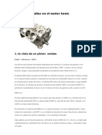 Reporte de Fallas en El Motor Hemi