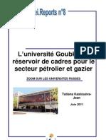 L'université Goubkine