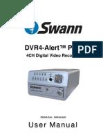 SW242-DAL DVR4 Alert Plus Manual ENG