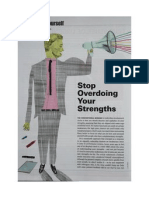 Stop Overdoing Your Strengths