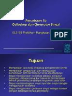 Osiloskop Dan Generator Sinyal