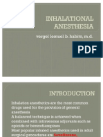 Inhalational Anesthesia