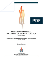 Thesis_Effects of Material Weakness on Stock Exchange Market