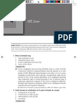 4 Git Liver Mcqs | Hepatitis | Hepatitis B