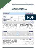 General Indicators of Dubai - USEFUL!