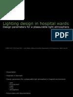 Lighting Design in Hospital Wards