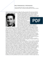 1984 totalitarismi, persuasione e propaganda